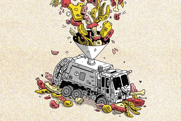 كيف يمكن لشاحنات القمامة أن تقودنا إلى مستقبل أخضر؟؟