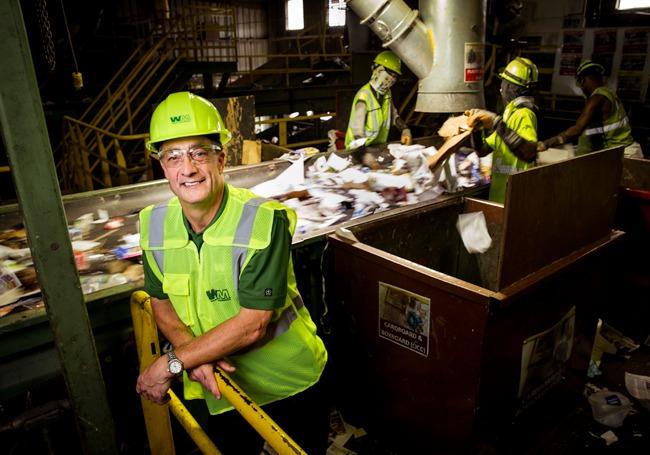 إدارة المخلفات تعيد التفكير بشأن عملية إعادة التدوير
