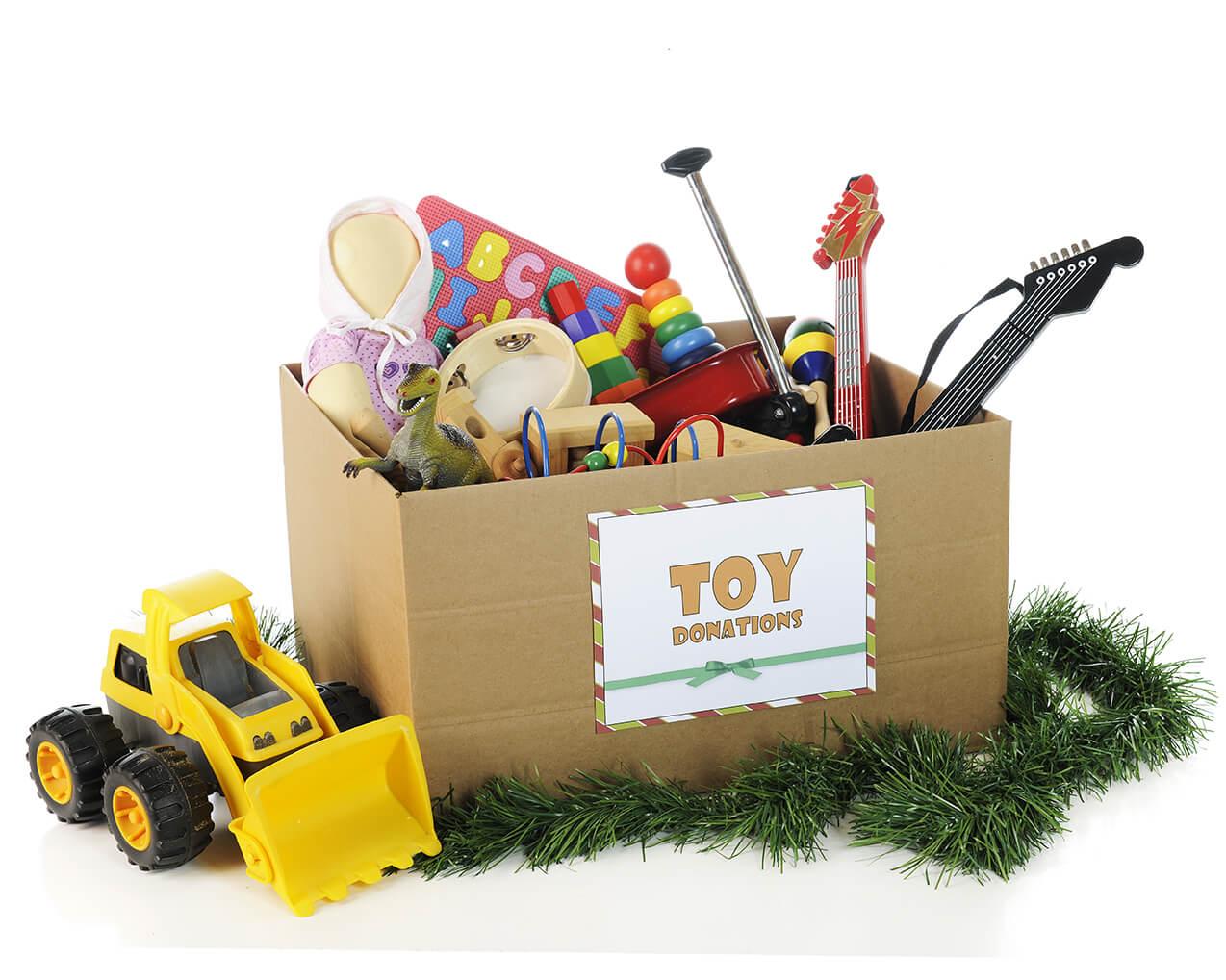 أفكار لشراء وإعادة هيكلة لعب الأطفال في الأعياد