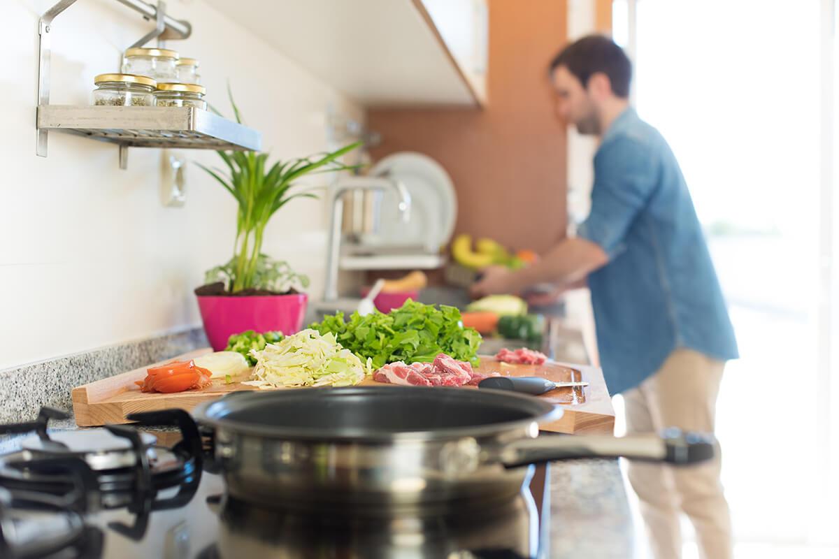 نصائح الطبخ لترشيد استهلاك الطاقة