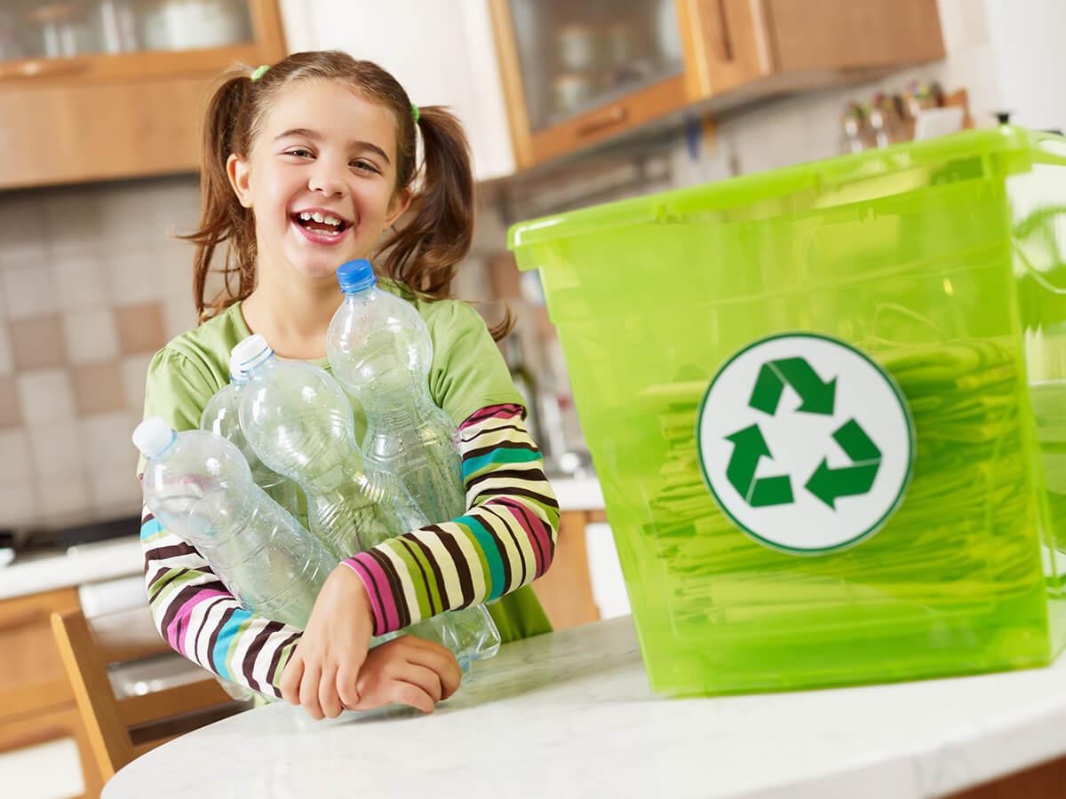 كيف نجعل الأطفال يشاركون في إعادة التدوير؟