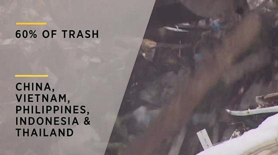 تعرف على الخمس بلدات اللاتي تمثلن مصادر النفايات البلاستيكية