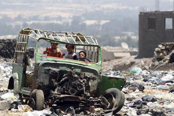 أزمة النفايات في مصر