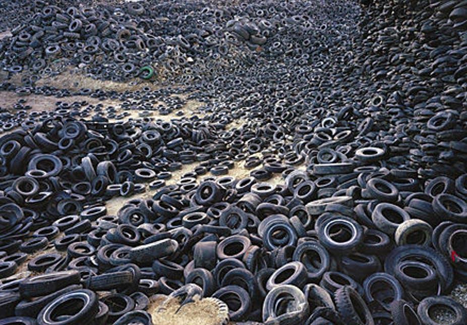 إعادة التدوير يساعد المطاط الغائب منذ فترة على العودة من جديد
