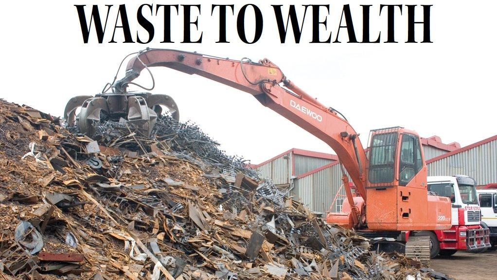 جنوب أفريقيا استيقظت للتو على أهمية إعادة تدوير المخلفات اقتصادياً