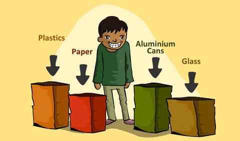 ما هي إعادة تدوير المخلفات؟