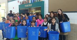 إعادة التدوير في المدارس