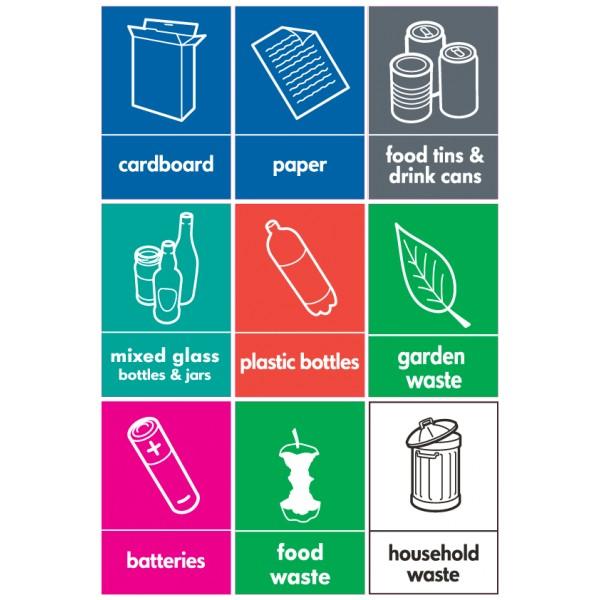 نصائح لإعادة التدوير والاستخدام والتقليل من النفايات