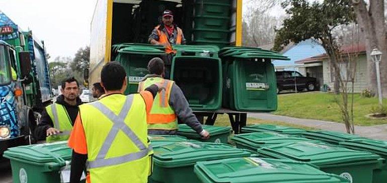 تحديث: استئناف إعادة التدوير على الجانب الأمامي في ولاية هيوستن 13 نوفمبر بعد إعصار هارفي