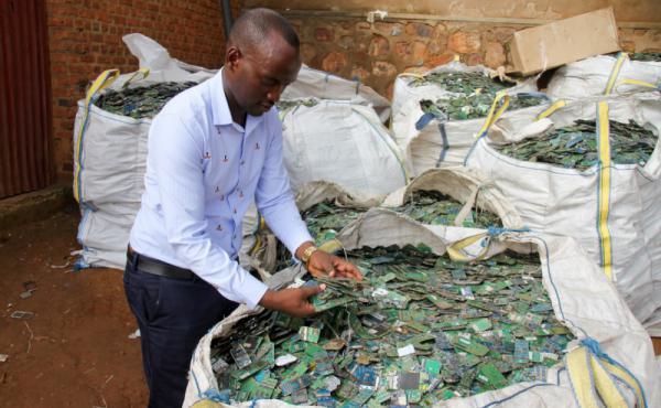 كمية المواد التي يتم إعادة تدويرها ستتضاعف مرتين خلال الفترة من عام 2005 إلى  عام 2050
