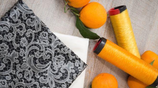 ملابس من برتقال صقلية!