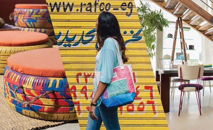 تسع انطلاقات مصرية مشرفة تحول النفايات إلي أموال بطريقة إبداعية