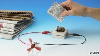 بطاريات شركة Sony  الحيوية تحول مخلفات الورق إلى كهرباء!
