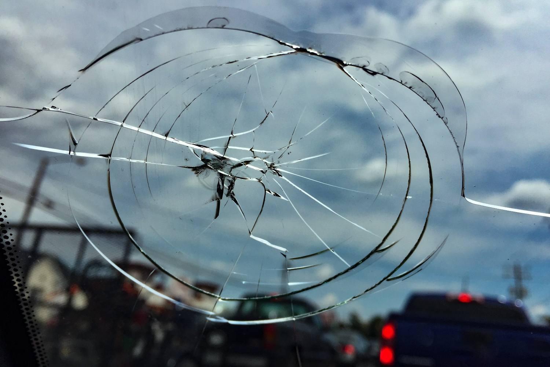 إعادة تدوير زجاج الحماية الأمامي للسيارات