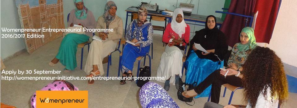 برنامج Womenpreneur لرائدات الأعمال